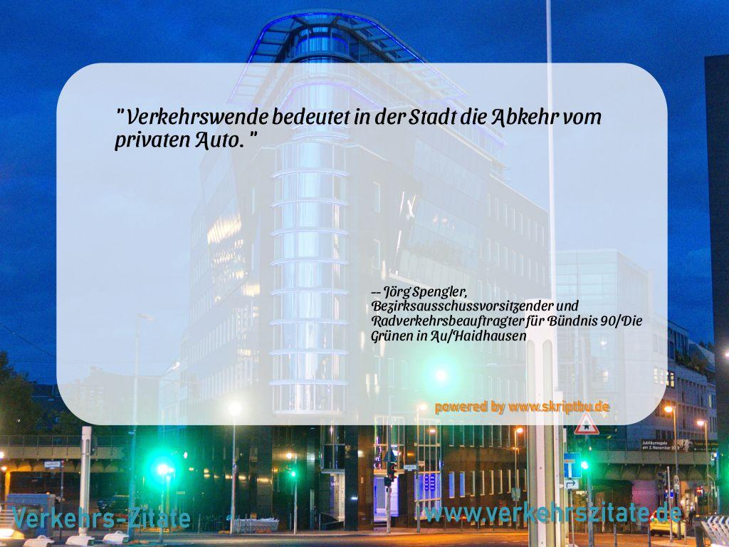 Verkehrswende bedeutet in der Stadt die Abkehr vom privaten Auto., Jörg Spengler, Bezirksausschussvorsitzender und Radverkehrsbeauftragter für Bündnis 90/Die Grünen in Au/Haidhausen